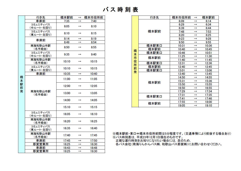 橋本(和歌山)駅 時刻表|南海高野線|ジョルダン